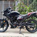 xe côn tay Honda RR150 màu đen