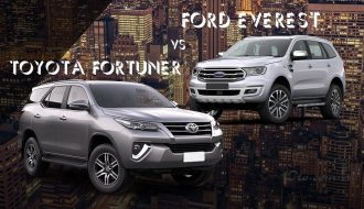 Ford Everest và Toyota Fortuner